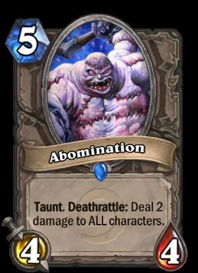 Abomination Card Image