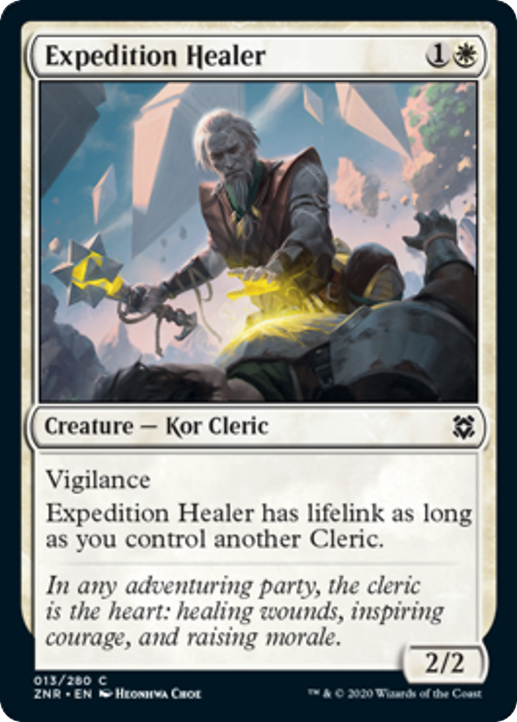 Expedition Healer Card Image