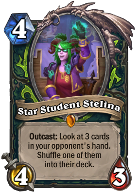Star Student Stelina Card Image