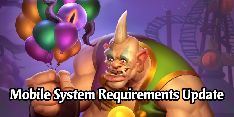Hearthstone No Longer Playable on Mobile Devices With Less Than 2GB of Memory