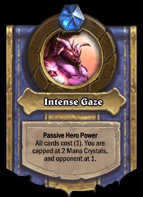 Intense Gaze Card Image
