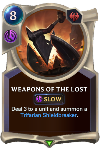 Weapons of the Lost Card Image