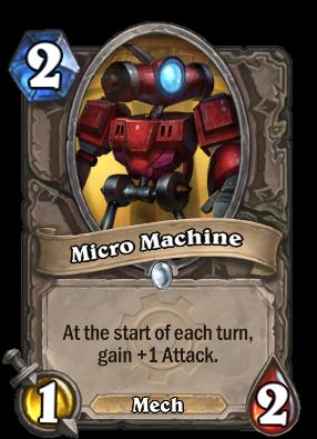 Micro Machine Card Image
