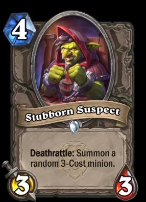 Stubborn Suspect Card Image