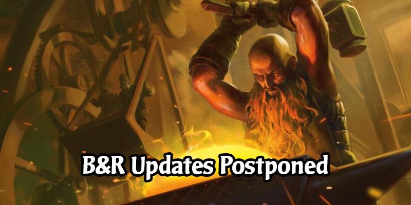 Core 2021 Stream & MTG Arena Bans & Restricted Updates Postponed