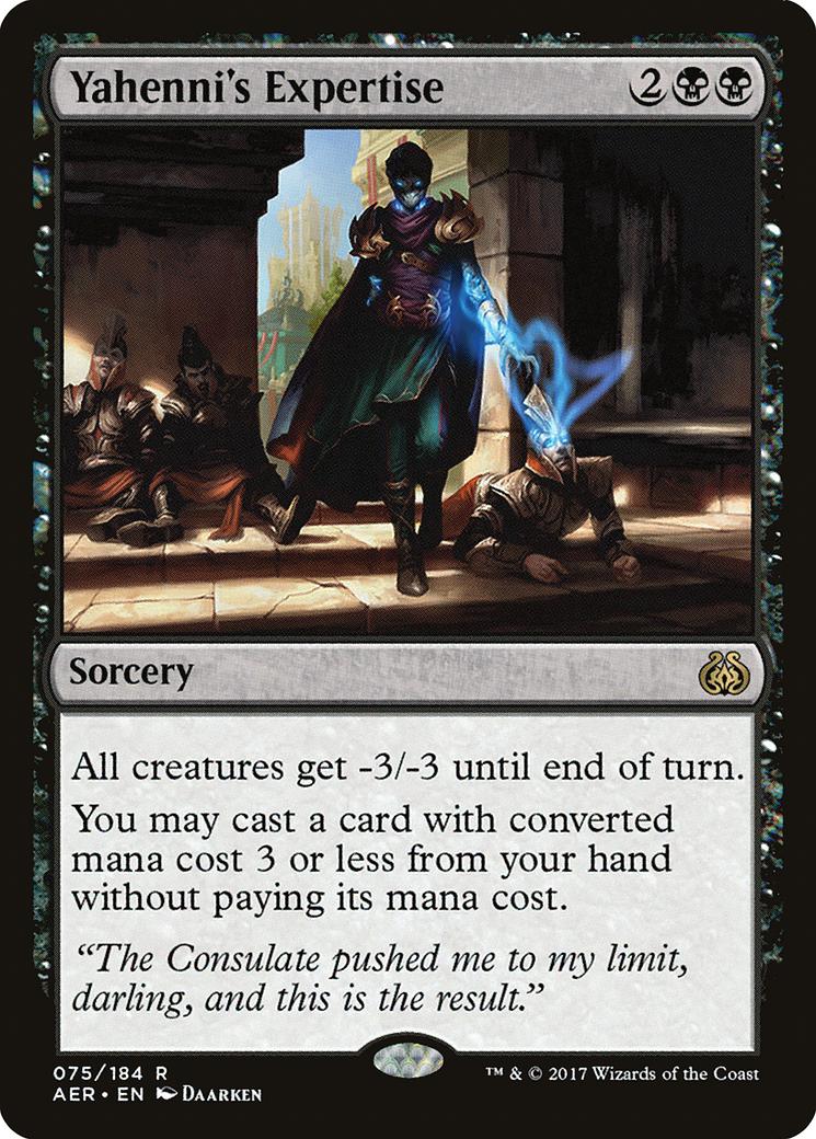 Yahenni's Expertise Card Image