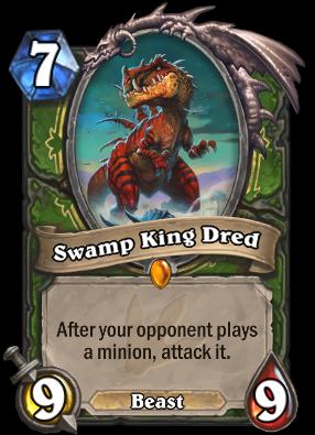 Swamp King Dred Card Image