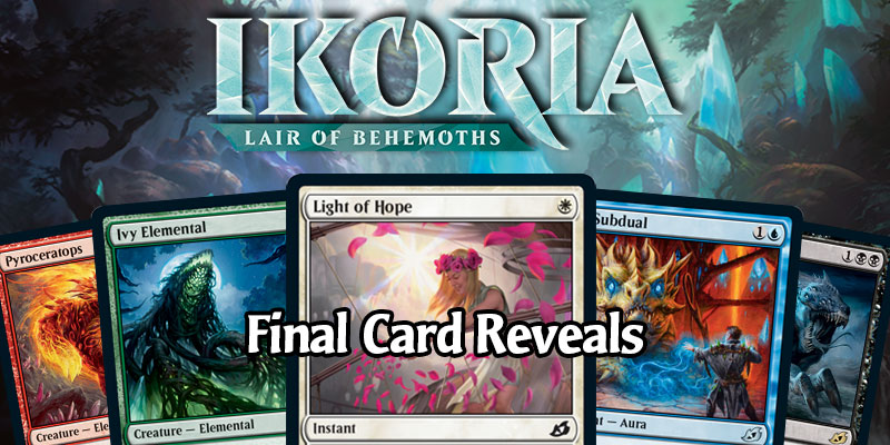 MTG Arena - Ikoria: Lair of Behemoths Final Card Dump