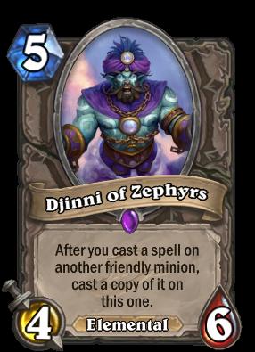 Djinni of Zephyrs Card Image