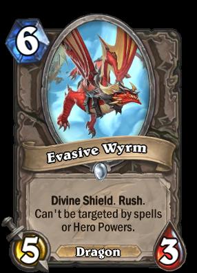 Evasive Wyrm Card Image
