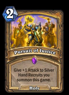 Pursuit of Justice Card Image
