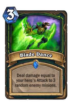 Blade Dance Card Image