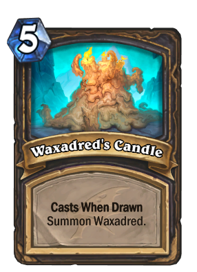 Waxadred's Candle Card Image