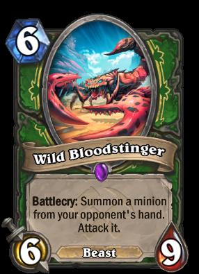 Wild Bloodstinger Card Image