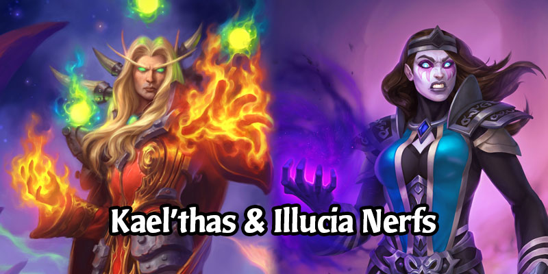 Hearthstone's Kael'thas Sunstrider and Mindrender Illucia Are Receiving Nerfs This Week