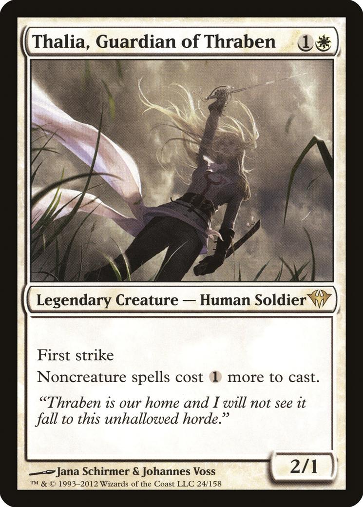 Thalia, Guardian of Thraben Card Image