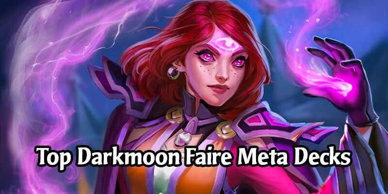 The Top Standard Hearthstone Decks for Each Class in Darkmoon Faire