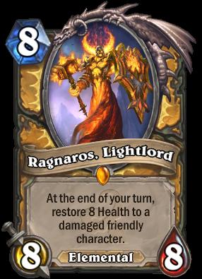 Ragnaros, Lightlord Card Image