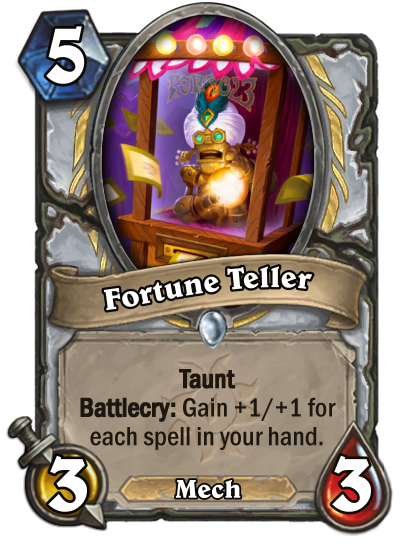 Fortune Teller Card Image