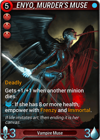 Enyo, Murder's Muse Card Image