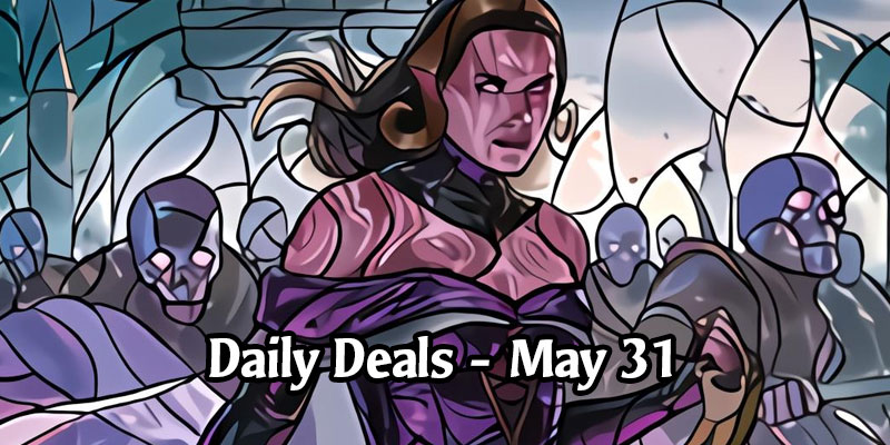 Stained Glass Planeswalkers Return to Daily Deals Today! 33% to 50% Discounts