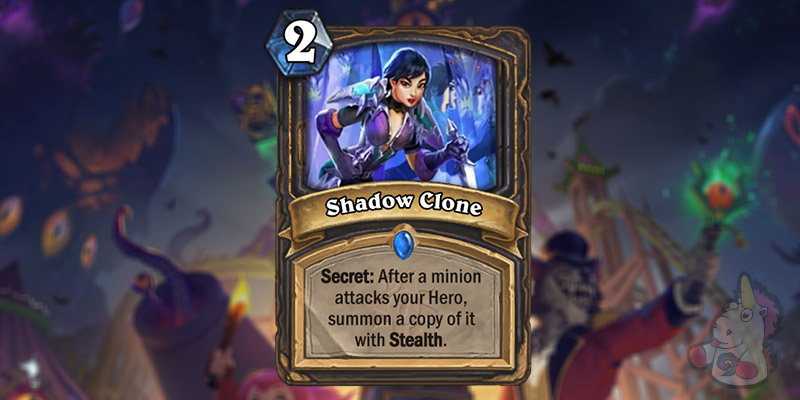 Shadow Clone is a New Rogue Card Revealed for Hearthstone's Darkmoon Faire Expansion