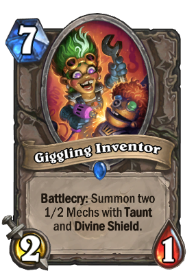 Giggling Inventor Card Image