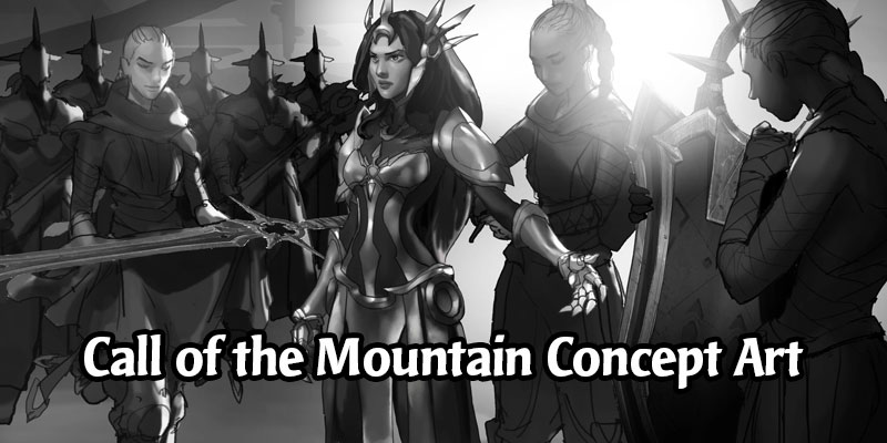 Legends of Runeterra Concept Art Spotlight - Call of the Mountain