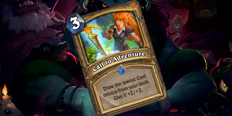 New Rare Paladin Spell - Call to Adventure