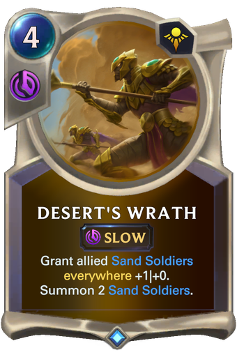 Desert's Wrath Card Image