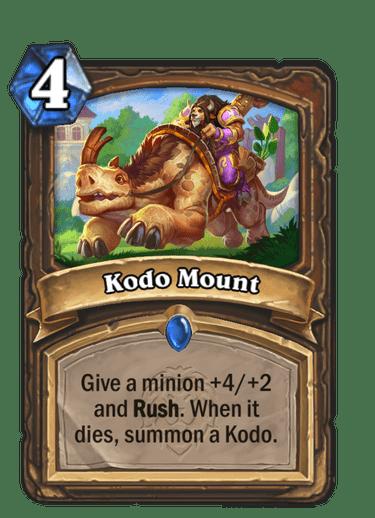Kodo Mount Card Image