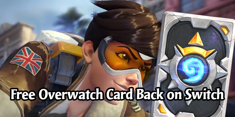 Get the Overwatch Hearthstone Card Back for Free on Nintendo Switch Until October 20
