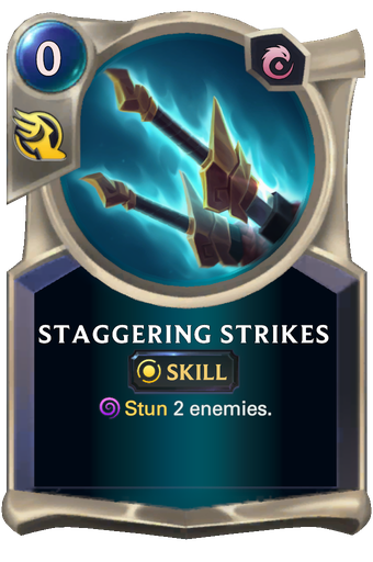 Staggering Strikes Card Image