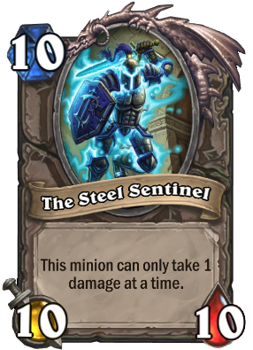 The Steel Sentinel Card Image
