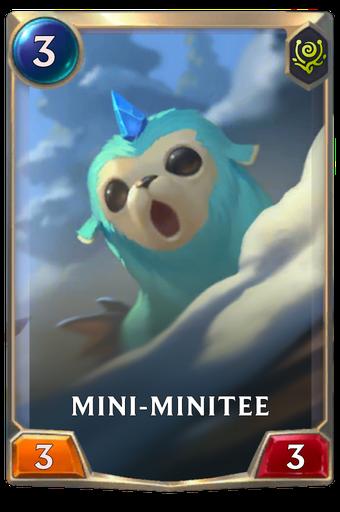 Mini-Minitee Card Image