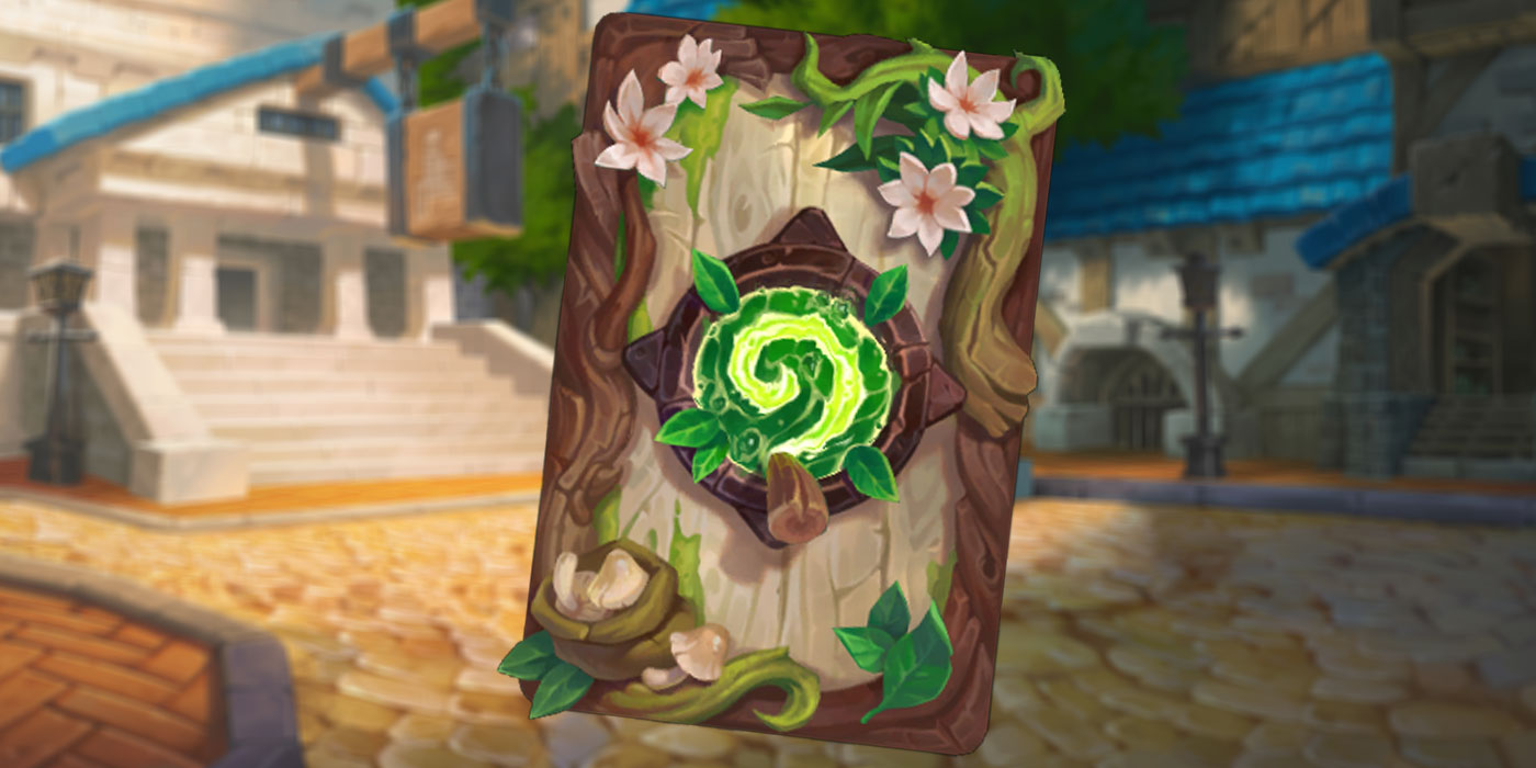 Hearthstone's October 2021 Card Back, Herbalist, Has Arrived!