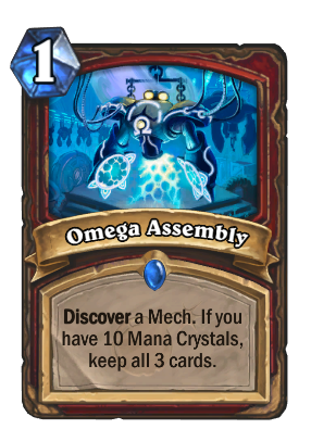 Omega Assembly Card Image