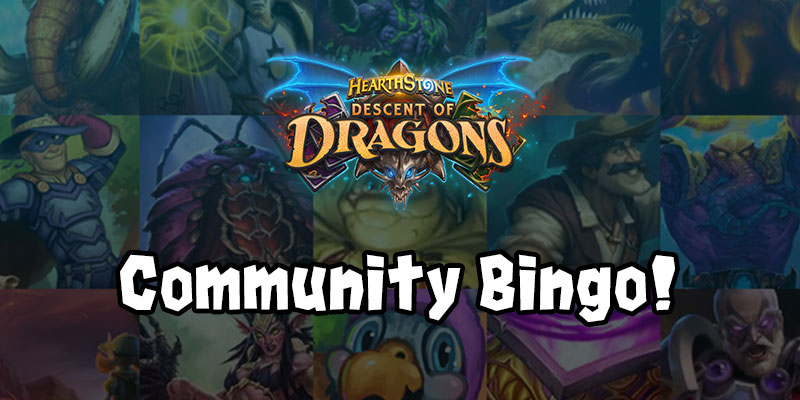 Descent of Dragons - Reveal Season Community Bingo