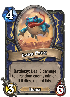 Leap Frog Card Image