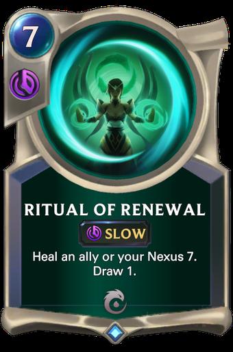 Ritual of Renewal Card Image