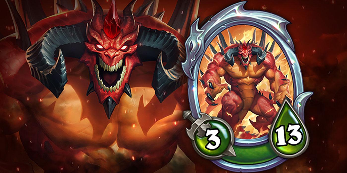 Diablo, the Lord of Terror Enters Hearthstone in its New Mercenaries Game Mode