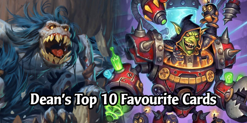 Some Cards in Hearthstone's New Rotating Core Set Are Dean Ayala's Favourites - Here's Are His Top 10 Favourite Cards