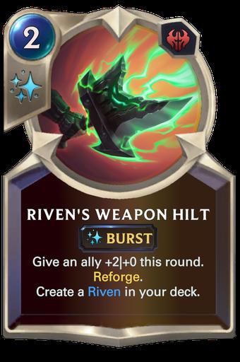 Riven's Weapon Hilt Card Image