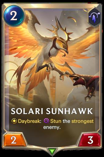 Solari Sunhawk Card Image