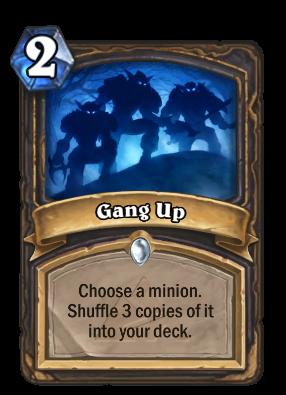 Gang Up Card Image
