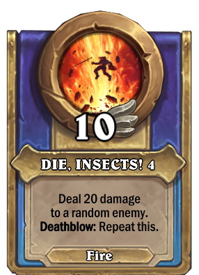 DIE, INSECTS! 4 Card Image