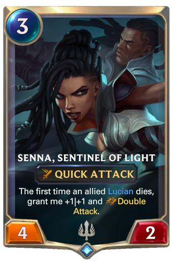 Senna, Sentinel of Light Card Image