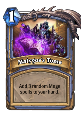 Malygos's Tome Card Image