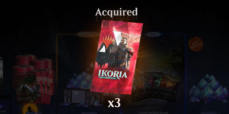 Want Free Magic Arena Card Packs? Get Three Free Ikoria: Lair of Behemoths Packs!