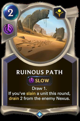 Ruinous Path Card Image